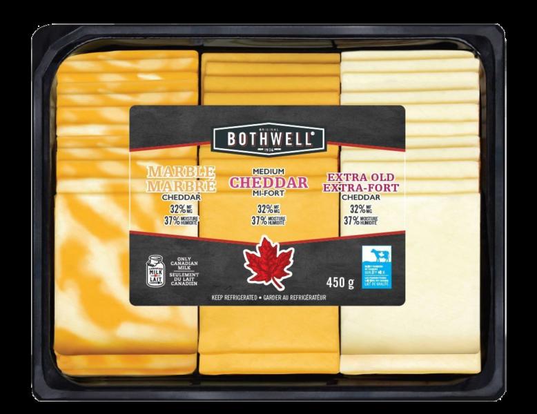 Image for Sliced – Cheddar Variety Pack
